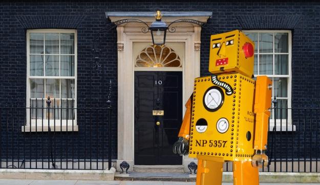 Robot at 10 Downing Street
