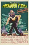 Poster for the film Forbidden Planet