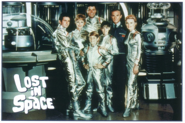 Lost in Space postcard front