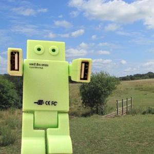 USB Hub Robot