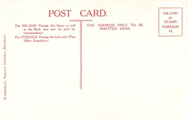 Enigmarelle postcard back