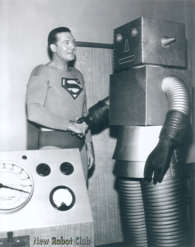 Superman+Robot