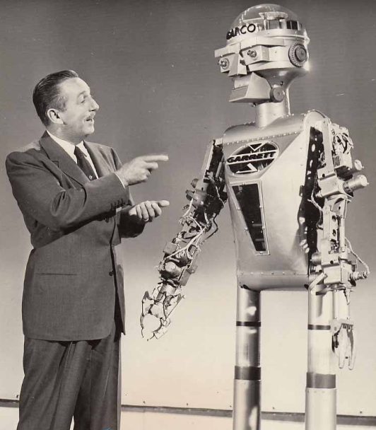 an introduction to the past and future of robots This is something that happened in the past, and of course it will happen in the future again  we have a gradual introduction of robots in warehouses.